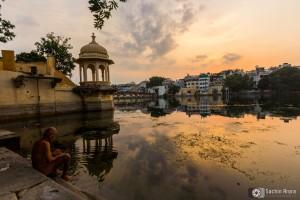 Lake view at morning, Udaipur