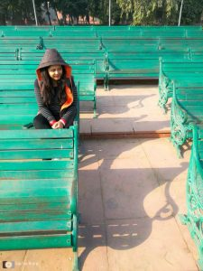 Portrait, Red Fort, Delhi