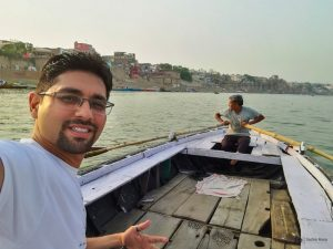 Boating in Varanasi