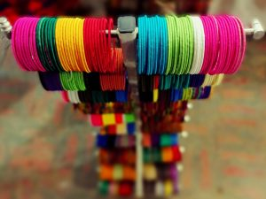 Colors at delhi haat